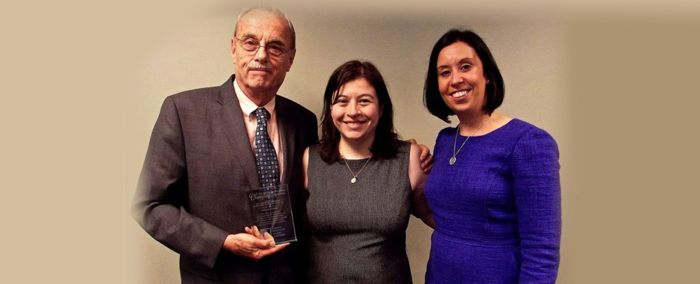 Law Office of Robert D. Ahlgren was Awarded the Pro Bono Champion Award of 2016 by the Chicago Chapter of AILA
