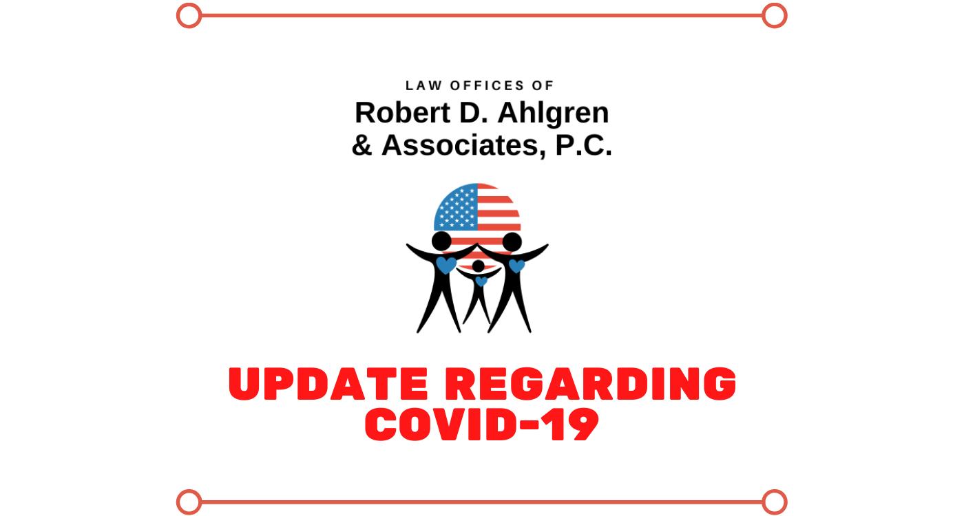 Update Regarding COVID-19
